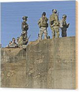 U.s. Special Operations Soldiers Wood Print