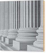 Us Supreme Court Building IIi Wood Print