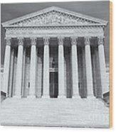 Us Supreme Court Building Viii Wood Print
