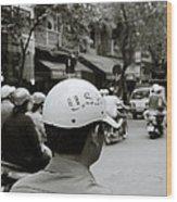 Usa And Hanoi Wood Print