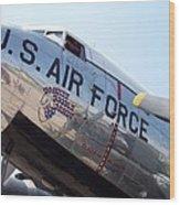 Usaf Douglas Dc-3 Transport Aircraft Wood Print