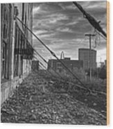 Usa's Most Dangerous City Wood Print by Jane Linders