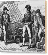 Uss Chesapeake, 1807 Wood Print