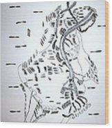 Ussua Dance - Sao Tome And Principe Wood Print