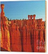 Utah - Thor's Hammer 3 Wood Print by Terry Elniski