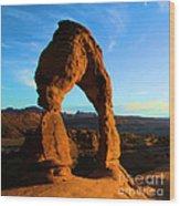 Utah Landmark Wood Print