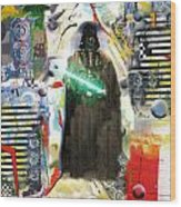 Vader's Entry Wood Print