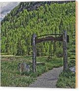 Vail Memorial Park Wood Print
