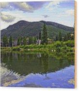 Vail Reflections 6 Wood Print