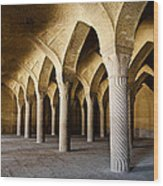 Vakil Mosque . Shiraz . Iran Wood Print