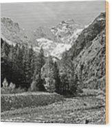 Val Di Cogne In The Italian Alps Wood Print