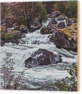 Valdolla River Wood Print