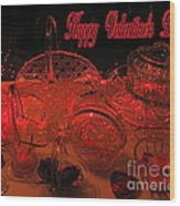 Valentine Crystal  Wood Print