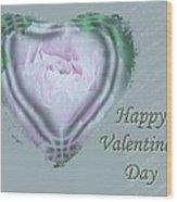 Valentine Pink Tree Peony Wood Print