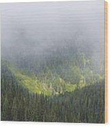 Valley Light Wood Print