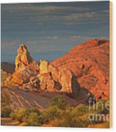 Valley Of Fire - Picturesque Desert Wood Print by Christine Till