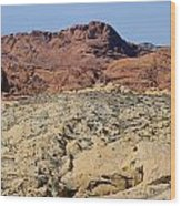 Valley Of Fire 4 Of 4 Wood Print