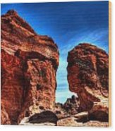 Valley Of Fire Monuments Wood Print