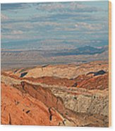 Valley Of Fire Nevada Wood Print