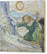 Van Gogh: Lazarus Wood Print