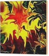 Van Gogh Lily Wood Print