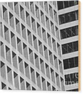 Vancouver Buildings Wood Print