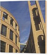 Vancouver Library Building Wood Print