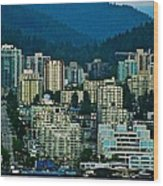 Vancouver Rooms With A View Wood Print