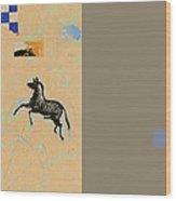 Variations Equine Wood Print