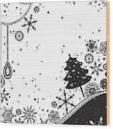 Various Plants Patterns Wood Print