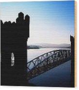 Vartry Reservoir, Roundwood, County Wood Print