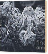 Vase Of Flowers 2 Wood Print