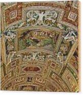 Vatican Ceiling Wood Print