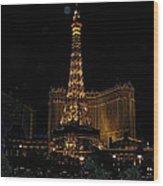 Vegas Wood Print