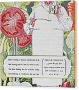 Vegetable Oil Ad, 1926 Wood Print