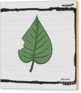 Vegetarian Wood Print