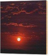 Velvet Sun Wood Print by Kevin Bone