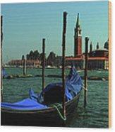 Venetian Gandola Wood Print