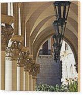 Venetian Hotel Las Vegas Nevada Wood Print