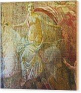 Venetian Maiden  Wood Print
