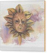 Venetian Mask IIi Wood Print