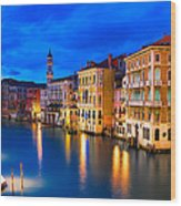 Venice 01 Wood Print