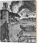 Venice: Arsenal, 1793 Wood Print