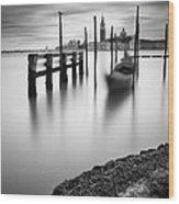 Venice Canal Grande Wood Print