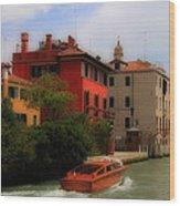 Venice Canals 7 Wood Print