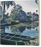 Venice Canals  Wood Print
