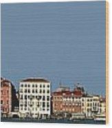 Venice Cityscape On The Lagoon Wood Print