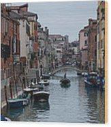 Venice Commuter Wood Print