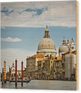 Venice Entryway Wood Print
