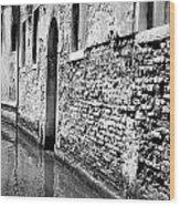 Venice: Grand Canal, 1969 Wood Print
